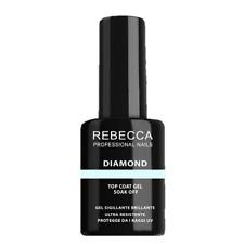 REBECCA DIAMOND Top Coat Gel Antigiallo con Filtro UV (10ml)