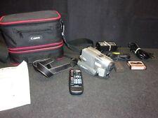 Canon OPTURA PiA Mini DV Digital Video Camera Camcorder w/Extras - Tested