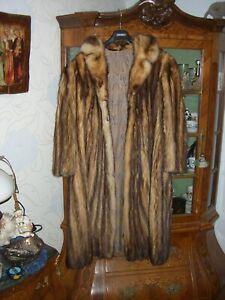 Pelzmantel Fuchs(Streifen)