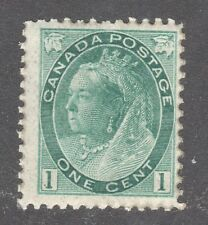 CANADA STAMP #75  --- 1c QUEEN  - 1898 - UNUSED