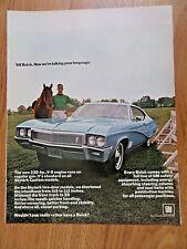1968 Buick Skylark Custom Ad  Talking your Language