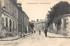 CPA 60 CLERMONT OISE RUE DU CHATELLIER