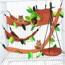 Hammock Rat Bird Parrot Hanging Bed House Cage Nest Accessories Hamster Playing