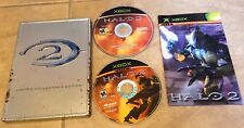 Halo 2 Limited Collector's Edition 2 disc complete w/ metal case & Manual Xbox