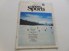 Snow Sports snowmobile magazine Jan. 1974 Sno-Pro racing Ski-Doo Rupp Polaris