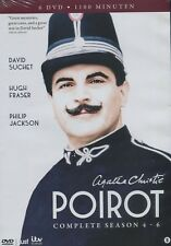 Agatha Christie's Poirot : Complete season 4 - 6 (6 DVD)