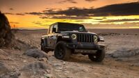 2020 Jeep Gladiator Mojave Auto Car Art Silk Wall Poster Print 24x36""
