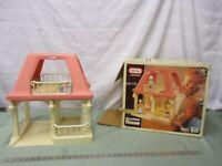 Vintage Little Tikes Grandma's House Dollhouse w/Original Box 1992 #5570