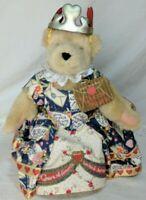 Muffy Vanderbear The Queen of Hearts hangtag 1993 North American Bear Co. *