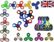 Hand Spinners Fidget Finger Spinner ADHD Gyro LED Camo, Metal 5Pcs For £2.50 UK
