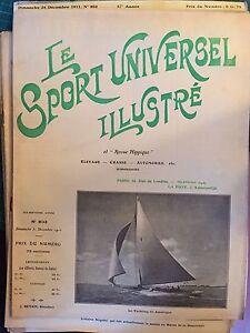 Le sport universel illustré n°803 Le Yachting en Amérique