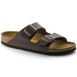 Birkenstock ARIZONA Birko-Flor Dark Brown Unisex Sandals 51701