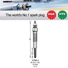 NGK Y-701J / Y701J / 5116 Sheathed Glow Plug Pack of 4 Genuine NGK Components