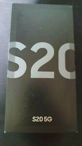 Samsung Galaxy S20 5G SM-G981B/DS - 128Go - Cosmic Gray (Désimlocké) (Double...