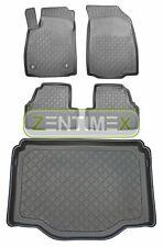 Z330706 SET Kofferraumwanne Gummifußmatten für Opel Mokka X Steilheck Geländewag