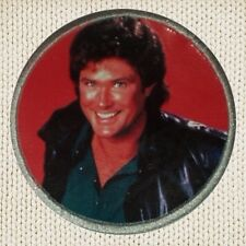 Michael Knight Patch Picture Embroidered Border Rider KITT 2000 David Hasselhoff