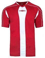 NEW Mens 3XL Umbro Evo Training Top T Shirt RED Football Gym Running XXXL
