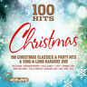 100 HITS CHRISTMAS (2015) 100-track 4-CD + DVD NEW/SEALED Karaoke Xmas