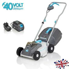 Swift 32cm 40 Volt battery cordless electric lawnmower (1x battery & charger)