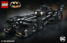 LEGO DC Superhereoes - Exklusiv 76139 - 1989 Batmobile - Neu & OVP