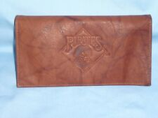PITTSBURGH PIRATES     Leather Checkbook   NIB   by Rico   brown