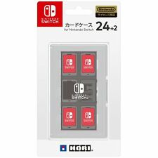 Nintendo Switch JAPAN official Licensed Game Software Card Case 24 White