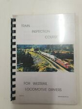 Westrail Train Inspection Course For Drivers Book