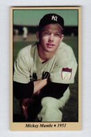 Mickey Mantle '51 New York Yankees Monarch Corona Tobacco Road #4 NM cond.