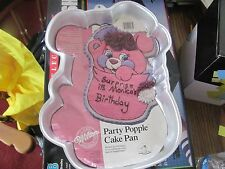 vintage Wilton Popples Cake pan with liner