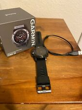 Garmin Fenix 5x 51mm Slate Grey Sapphire with Black Band Gps Watch - (010-01733…