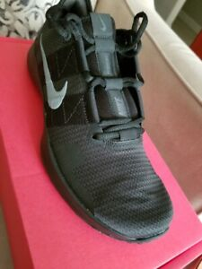 Nike Mens Varsity Compete II Training Sneaker Gray/Blk - 8.5 M