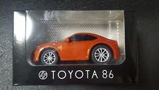 TOYOTA 86 Mini Car Pullback Orange Not sold in Store Japan Gift Super Rare