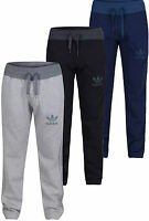 ADIDAS ORIGINALS 3 STRIPE MENS  ADIDAS SPO slim fit JOG PANTS Joggers S M L XL