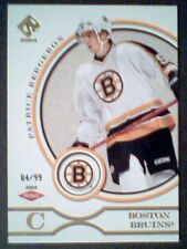 PATRICE BERGERON  03/04 AUTHENTIC GOLD VERSION ROOKIE CARD /99  SP
