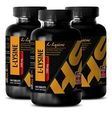 amino energy - L-LYSINE 1000mg - l-lysine for cats - 3 Bottles