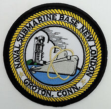 "Naval Submarine Base New London- Groton, Conn 4"" Patch"