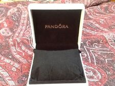 4 X Pandora white bracelet box with Plumped Pillow Insert BNIB