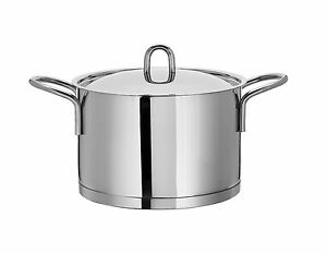 24CM/6.9 LTR  ARTAME STOCKPOT 18/10 STAINLESS STEEL QUALITY  INDUCTION