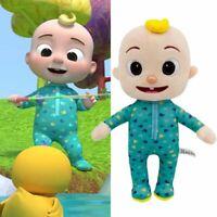 Cocomelon JJ Plush Toy 26cm/10in Boy Stuffed Doll Educational Kids Birthday Gift