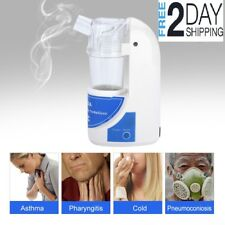 Humidificador Portable Asthma Nebulizer Machine For Kids Adults FULL MASK KIT *
