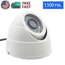 CMOS Analog 1300TVL 3.6MM 8MM In/Outdoor Security CCTV Camera IR Night Vision