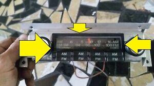ROLLS ROYCE SILVER SHADOW radio FRONT DISPLAY FRAME