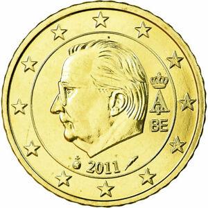 [#699433] Belgique, 50 Euro Cent, 2011, FDC, Laiton, KM:279
