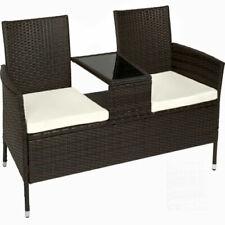 Sets de muebles de jardín marrón de ratán