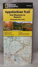 National Geographic TI Appalachian Trail VT East Mountain to Hanover Map 1510