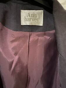 Ann Harvey ladies summer lightweight jacket size 18 In Brown