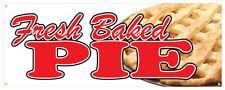 Fresh Baked Bread Banner Bakery Restaurant Farmers Market Store Sign 24x72