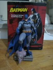 Batman Mini Statue Jim Lee Dc Direct 1° Version Man Of Stell  Flash Superman