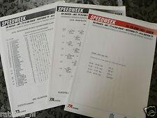 1991 TT ASSEN DUTCH PRESS INFO TRAINING, STARTING GRID,  MOTO GP