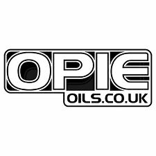 Opie aceites Decal Set - 2 X Negro 6 Pulgadas Pegatinas